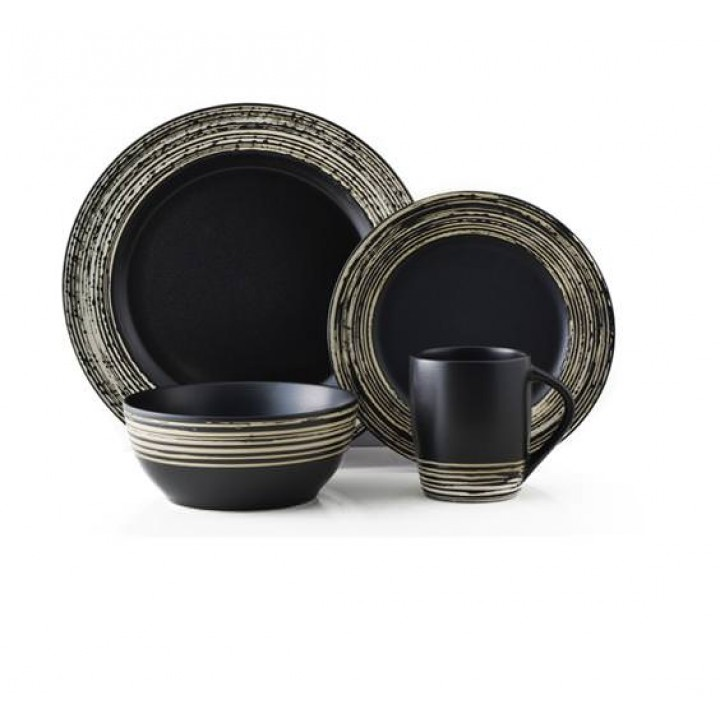 Сервиз Тhomson Pottery, Луми, (16 пред), черн