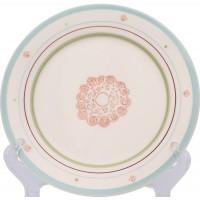 F361000328D0491 тарелка десертная Matceramica, Магнолия
