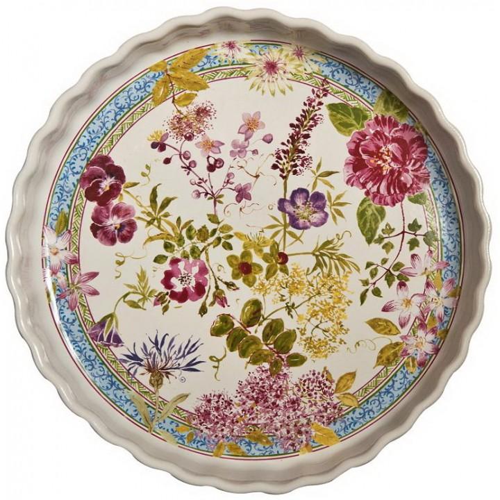4004CPTA00 Форма для выпечки круглая Gien, Многоцветие, 29 см.
